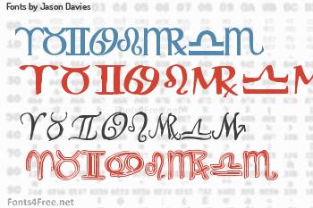 Jason Davies Fonts