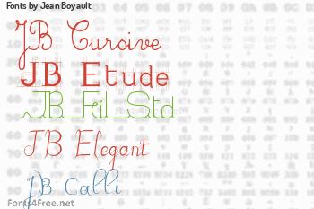 Jean Boyault Fonts