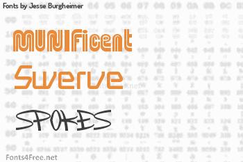Jesse Burgheimer Fonts