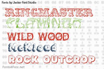 Jester Font Studio Fonts
