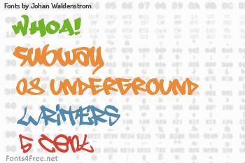 Johan Waldenstrom Fonts