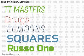Jovanny Lemonad Fonts