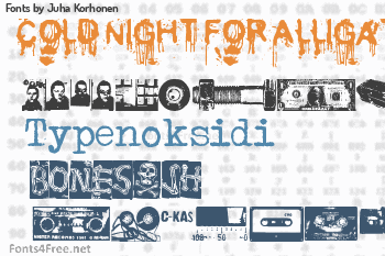 Juha Korhonen Fonts