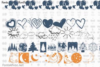 Kats Fun Fonts Fonts