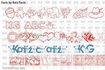 Katz Fontz Fonts