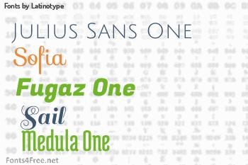 Latinotype Fonts