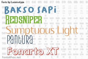 Locomotype Fonts