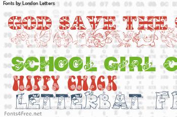 London Letters Fonts