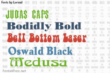 Lorvad Fonts