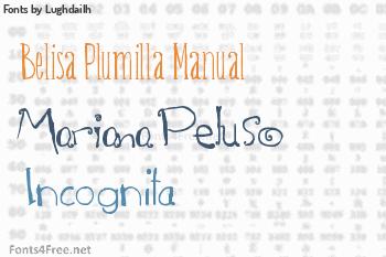 Lughdailh Fonts
