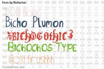 Bichochos Fonts