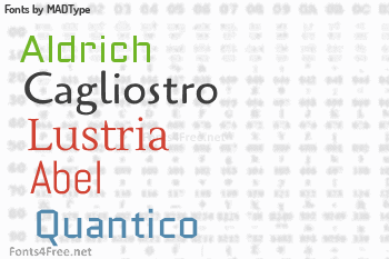 MADType Fonts