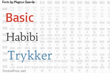 Magnus Gaarde Fonts