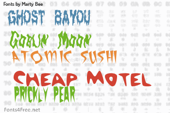 Marty Bee Fonts