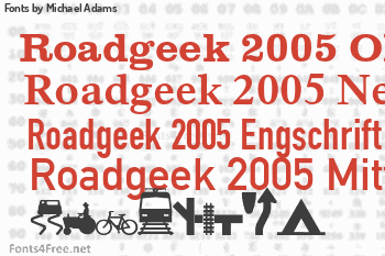 Michael Adams Fonts