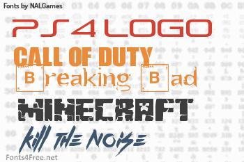 NALGames Fonts