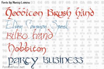 Nancy Lorenz Fonts