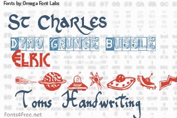 Omega Font Labs Fonts