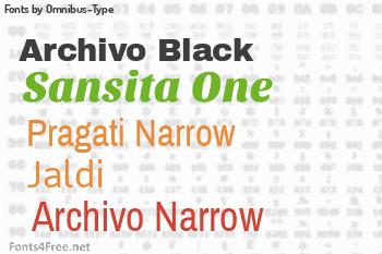 Omnibus-Type Fonts