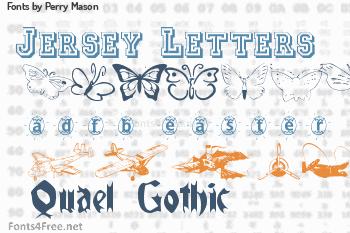 Perry Mason Fonts