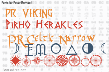 Peter Rempel Fonts