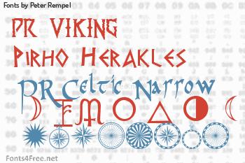 Peter Rempel Fonts