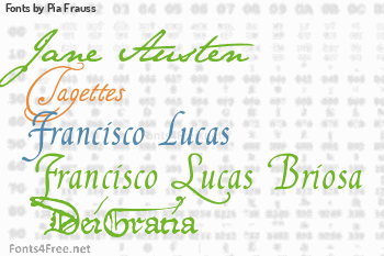 Pia Frauss Fonts