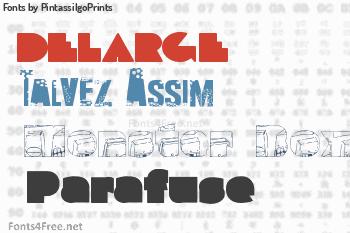PintassilgoPrints Fonts