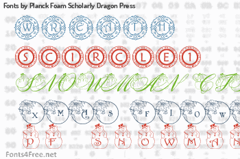 Planck Foam Scholarly Dragon Press Fonts