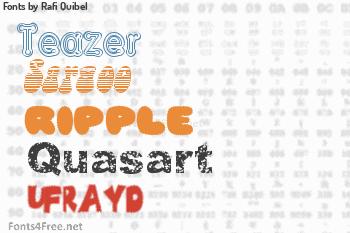 Rafi Quibel Fonts