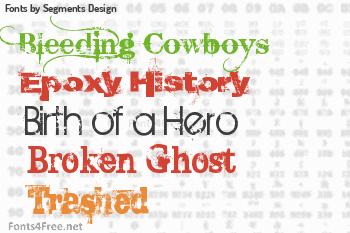 Segments Design Fonts