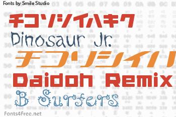 Smile Studio Fonts