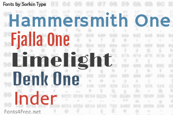 Sorkin Type Fonts