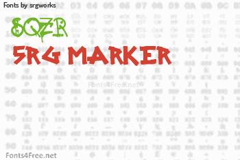 srgworks Fonts
