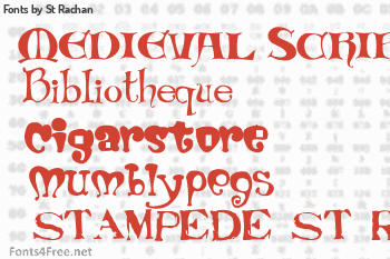 St Rachan Fonts