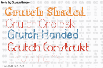 Steeve Gruson Fonts
