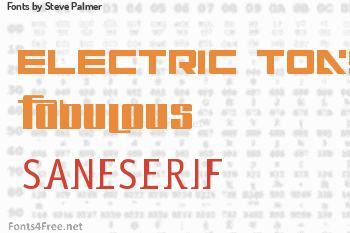 Steve Palmer Fonts