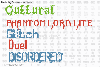 Subversive Type Fonts