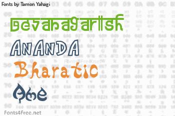 Tamon Yahagi Fonts