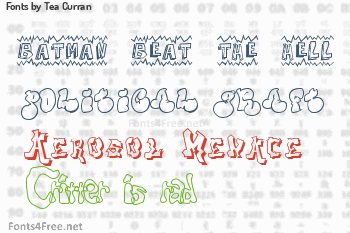 Tea Curran Fonts