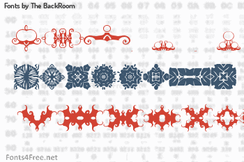 The BackRoom Fonts