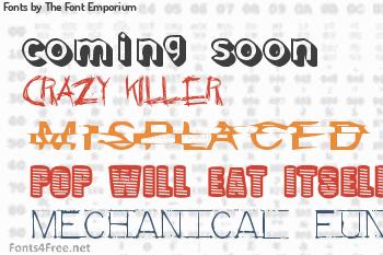 The Font Emporium Fonts