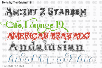 The Original 19 Fonts