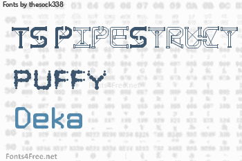thesock338 Fonts