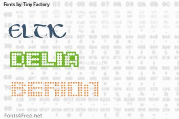 Tiny Factory Fonts