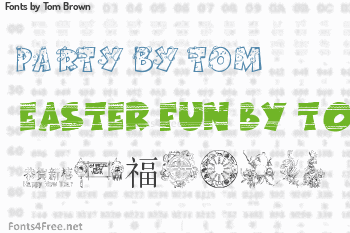 Tom Brown Fonts
