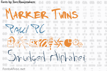 Tom Raaijmakers Fonts