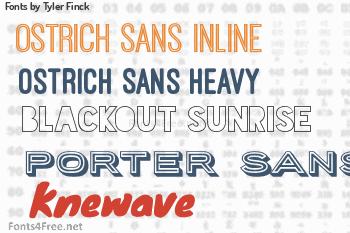 Tyler Finck Fonts