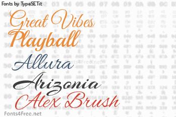 TypeSETit Fonts