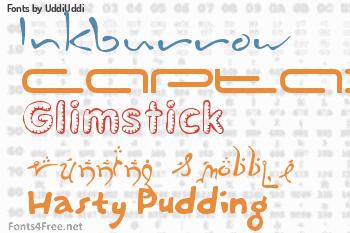 UddiUddi Fonts